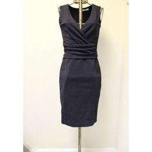 MaxMara Pinstripe Work Sheath Dress
